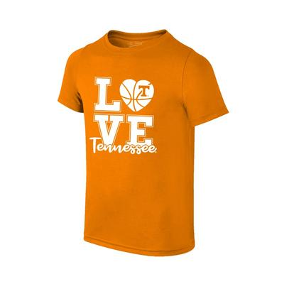 Tennessee Youth Love Basketball T-shirt