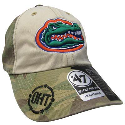 Florida 47' Camo Clean Up Cap