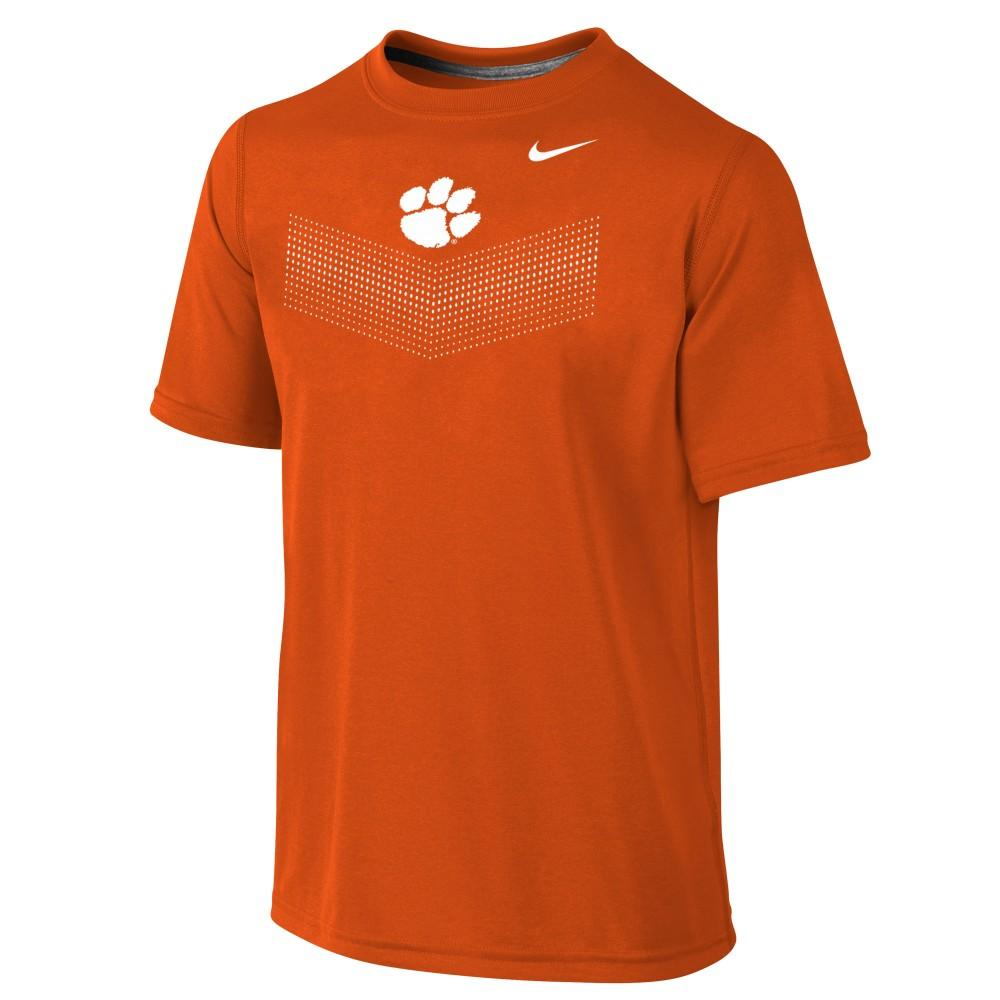 Clemson Nike Youth Legend T- Shirt