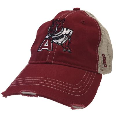 Arkansas Retro Brand Vault Trucker Cap