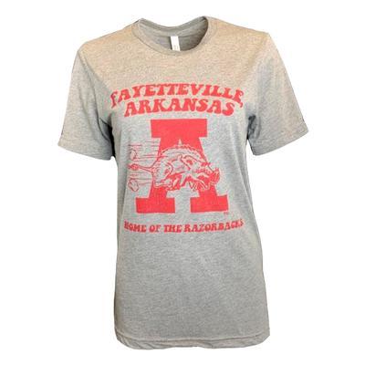 Fayetteville Home of the Razorbacks Short Sleeve Tee