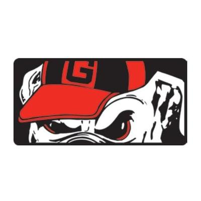 Georgia Mega Logo License Plate