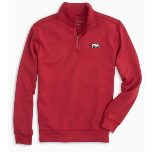 Arkansas Southern Tide Gameday 1/4 Zip Pullover