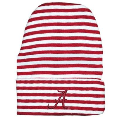 Alabama Infant Striped Knit Cap
