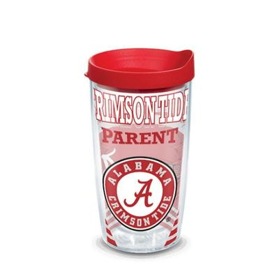 Alabama Tervis Crimson Tide Parent 16 oz Tumbler