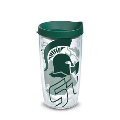 Michigan State Tervis Spartan Wrap 16 oz Tumbler