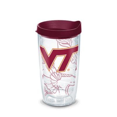 Virginia Tech Tervis Hokie Bird Wrap 16 oz Tumbler