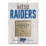 Mtsu Legacy Picture Frame - 9