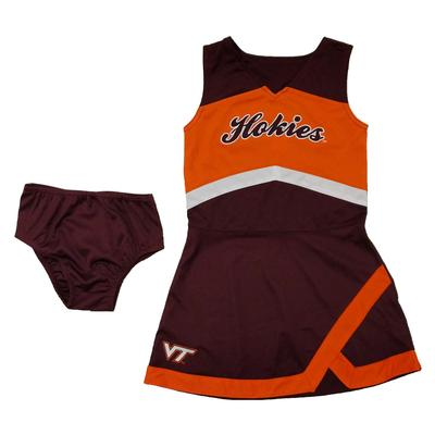 Virginia Tech Youth Cheerleader Set