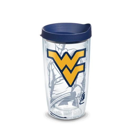 West Virginia Tervis Mountaineer Wrap 16 Oz Tumbler