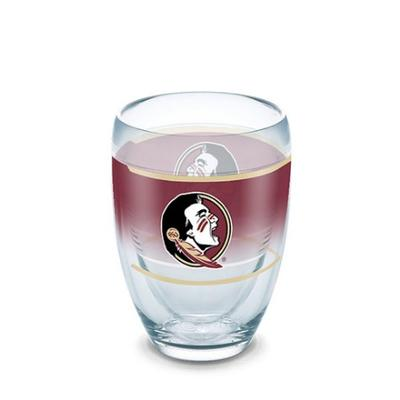 Florida State Tervis 9 oz Stemless Wine Glass