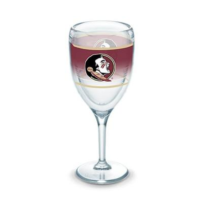 Florida State Tervis 9 oz Wrap Wine Glass