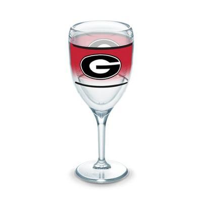 Georgia Tervis 9 oz Wrap Wine Glass