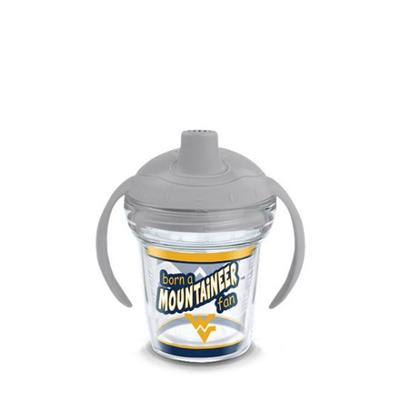 West Virginia Tervis Born A Fan 6 oz Sippy Cup