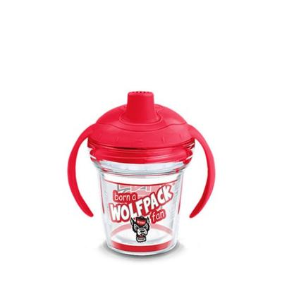 NC State Tervis Born A Fan 6 oz Sippy Cup