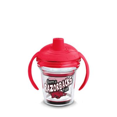 Arkansas Tervis Born A Fan 6 oz Sippy Cup