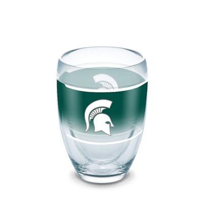 Michigan State Tervis 9 oz Stemless Wine Glass