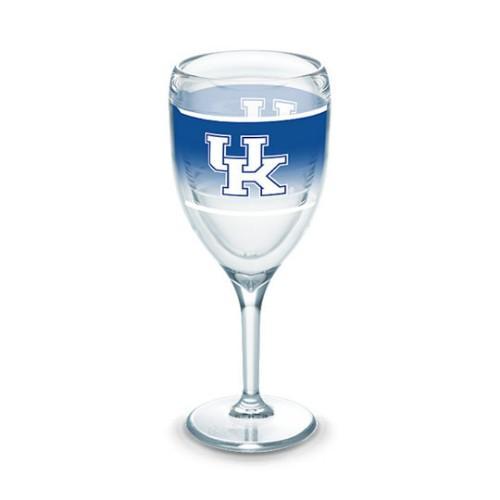 Kentucky Tervis 9 Oz Wrap Wine Glass