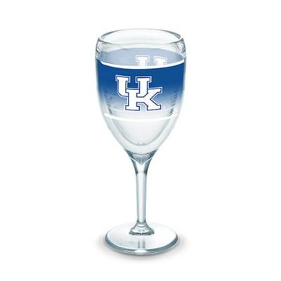 Kentucky Tervis 9 oz Wrap Wine Glass