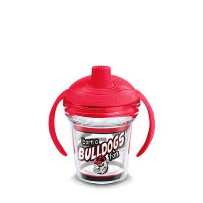 Georgia Tervis Born A Fan 6 oz Sippy Cup