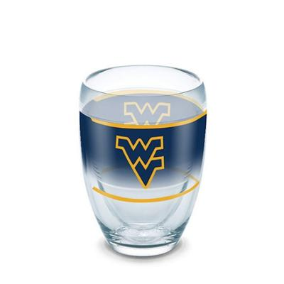 West Virginia Tervis 9 oz Stemless Wine Glass