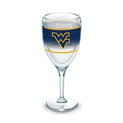 West Virginia Tervis 9 oz Wrap Wine Glass