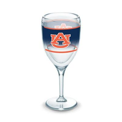 Auburn Tervis 9 oz Wrap Wine Glass