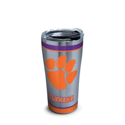 Clemson Tervis Tradition 20 oz Stainless Steel Tumbler