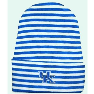 Kentucky Infant Striped Knit Cap