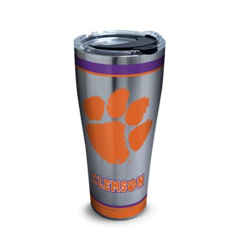 Clemson Tervis Tradition 30 Oz Stainless Steel Tumbler