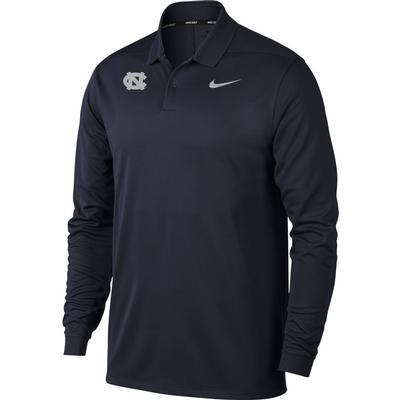 UNC Nike Golf Long Sleeve Polo