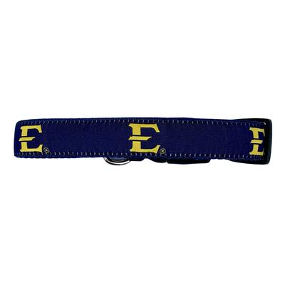 ETSU Team Logo Dog Collar