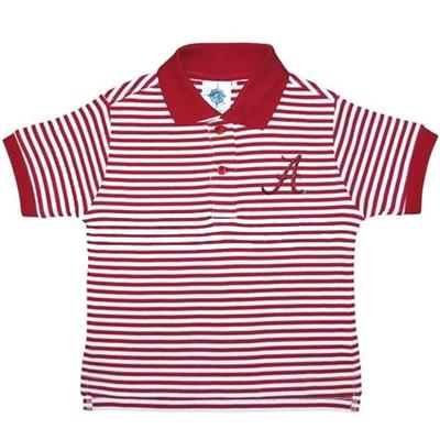 Alabama Toddler Striped Polo