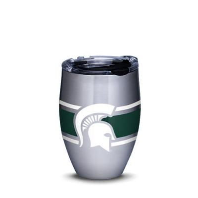 Michigan State Tervis 12 oz Stainless Steel Wine Tumbler