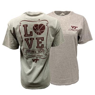 Virginia Tech Basketball Love T-Shirt