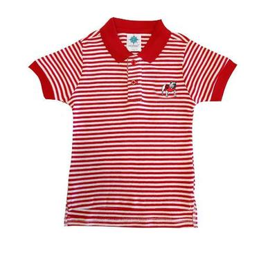 Georgia Toddler Striped Polo Shirt