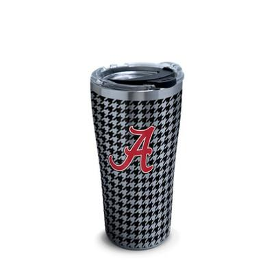 Alabama Tervis Houndstooth 20 oz Stainless Steel Tumbler