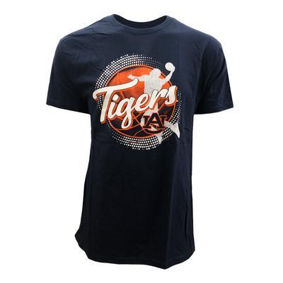 Auburn Dunking Basketball Player T-shirt