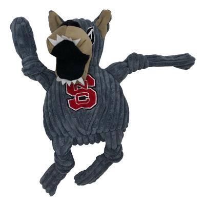 NC State Mr. Wuf Large Plush Knottie