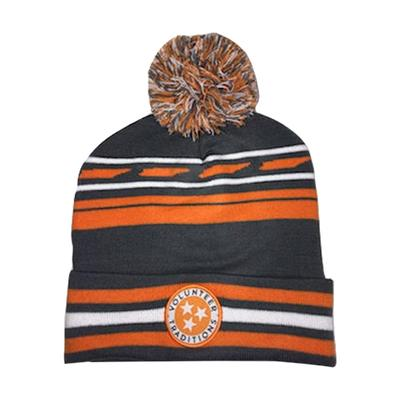 Tennessee Volunteer Traditions Tristar Knit Beanie