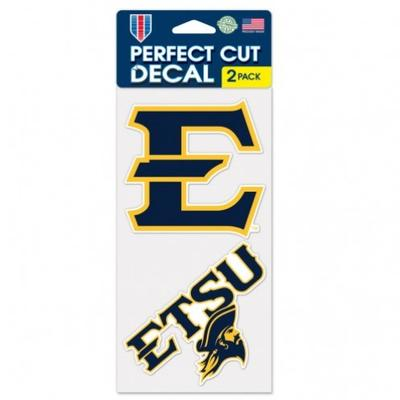 ETSU Wincraft Perfect Cut Decal 2 Pack 4