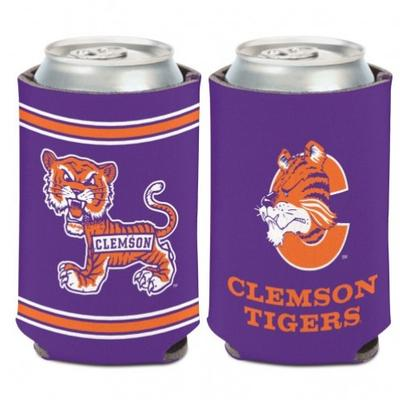 Clemson Wincraft Vault Tiger Can Coozie