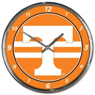 Tennessee Wincraft Chrome Clock