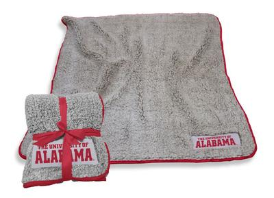 Alabama Logo Chair Frosty Fleece Blanket