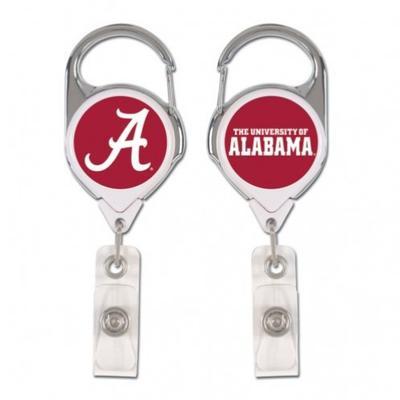 Alabama Wincraft Retractible Premium Badge Reel