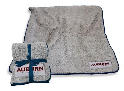 Auburn Logo Chair Frosty Fleece Blanket