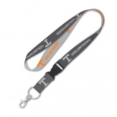 Tennessee Wincraft Charcoal Lanyard With Detachable Buckle