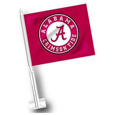 Alabama Circle Logo Car Flag