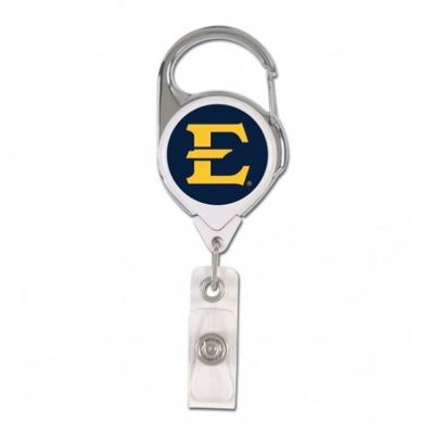 ETSU Wincraft Retractible Premium Badge Reel