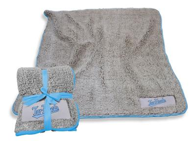 UNC Logo Chair Frosty Fleece Blanket